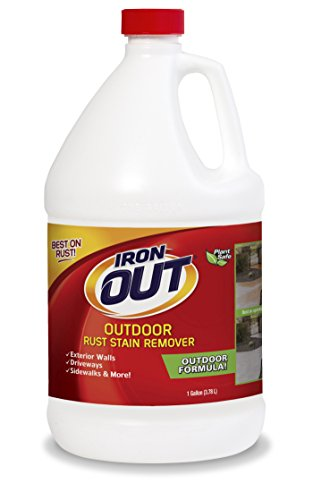 Slide Out Finish - Iron OUT Outdoor Rust Stain Remover, 1 Gallon