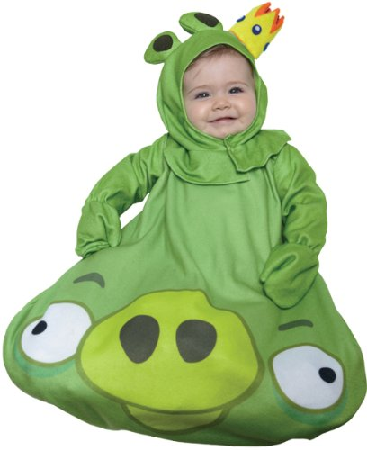 Toddler Angry Birds King Pig Kids Costumes (Baby Boy's Costume: Angry Birds, King Pig- 0-9 Months)