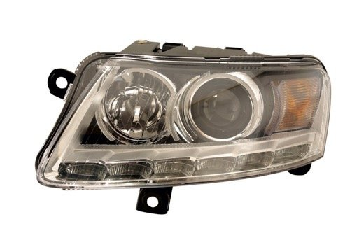 Go-Parts » Compatible 2009-2011 Audi A6 Quattro Front Headlight Assembly Housing/Lens/Cover - Left (Driver) Side 4F0941029DG AU2502156 Replacement For Audi A6 Quattro