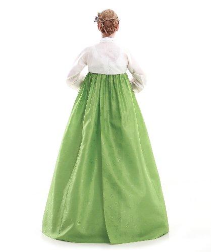 Fashion Korea Lang Elegant Weiss Hanbok Kleid X8wqRR