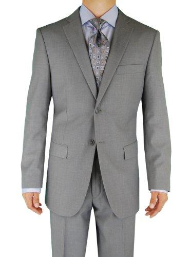 Fuomo Classic Men's 2 Button Business Suits 4 Colors