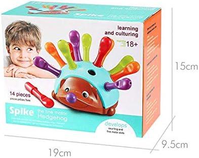hedgehog early education cognitive toys enlightenment spelling DERNISH Childrens concentration training kindergarten fine hand eye coordination