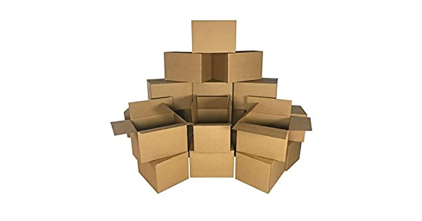 Amazon.com: Uboxes Mediana Moving Cajas 18