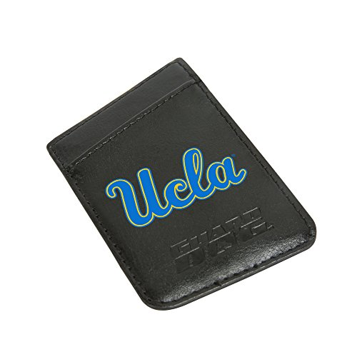 UCLA Bruins Card Keeper Leather Phone Wallet with RFID Protection Ucla Leather Wallet