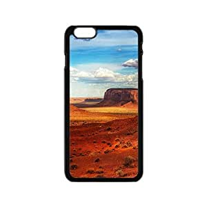 Brown Mountains Black Phone Case for Iphone6
