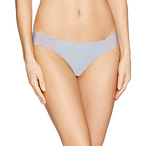 b.tempt'd by Wacoal Women's b Bare Thong Panty, Kentucky Blue, XL ()