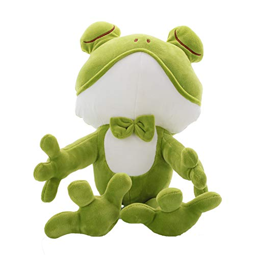 Long-Legged Frog Plush Stuffed Animal - Soft Doll Throw Pillows - Gifts for Kids - Red - Measures 17 inch