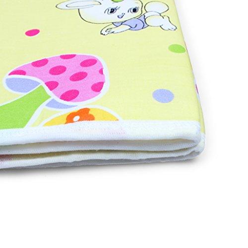 Edealing Infantil del bebé Cambio de pañal cubierta almohadillas de algodón de la orina impermeable Mat Paquete De 3
