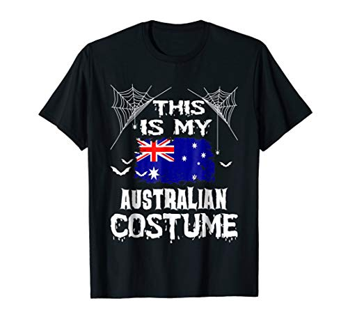 My Australian Costume Hearts Australia Flag Halloween