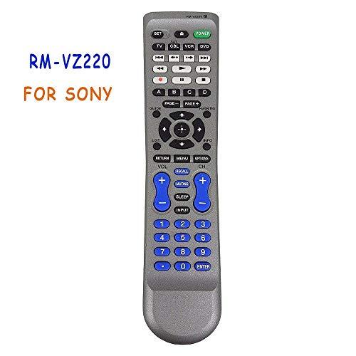 (Calvas New Original RM-VZ220 Remote Control For SONY RMVZ220 SAT TV DVD BD PLAYER DVR VCR 4-Device Controle RC2645503/01 Commander)