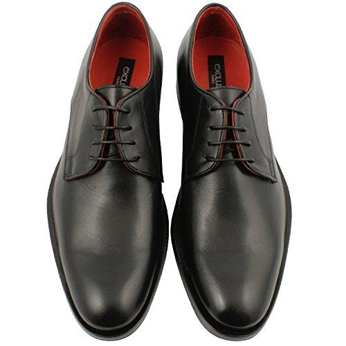 Exclusif Paris Exclusif Paris Lucio, Chaussures Homme Derbies - Zapatos de Cordones de Piel Hombre