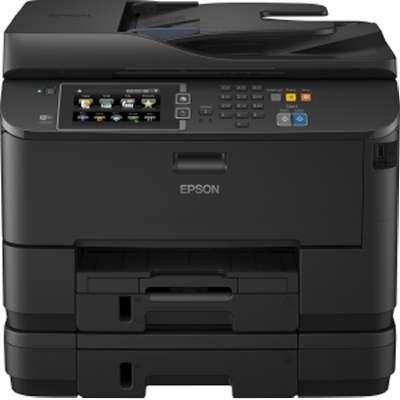 "Epson WorkForce WF-4640 AIO Printer/Scanner/Copier/Fax/Ethernet 4800x1200dpi Wireless USB 8.5""x14"""