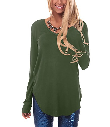 Geometry long sleeve tunic