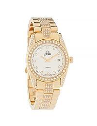 Jean Paul Boy's Quartz Brass and Alloy Watch, Color Gold-Toned (Model: 28311)