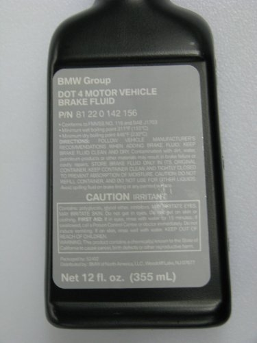 Bmw Dot 4 Brake Fluid