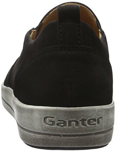 Ganter Giulietta, Weite G, Mocassini Donna Nero (Schwarz 0100)
