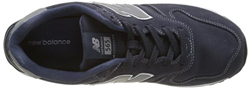 Ny Balans Mens Ml565 Klassiskt Mode Sneaker Navy