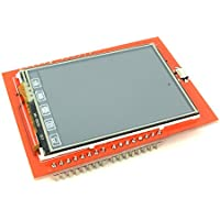 2.4 Touchscreen TFT LCD Display Screen Shield Module for Arduino with 320x240 Pixels Resolution from Optimus Electric Pack of 2