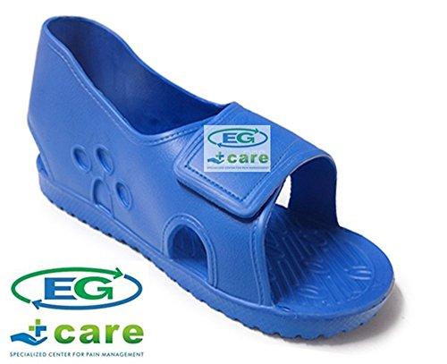 - Eg Care® Cast Boot Shoe (Size: S,M,L,XL) Blue Color (L (US 8.5 - US 10))