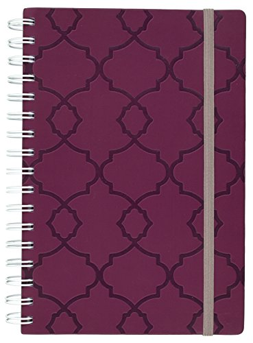 Mead Organizher On The Go Weekly Family Planner July 2016   June 2017  5 1 2  X 8 1 2   Purple  38824