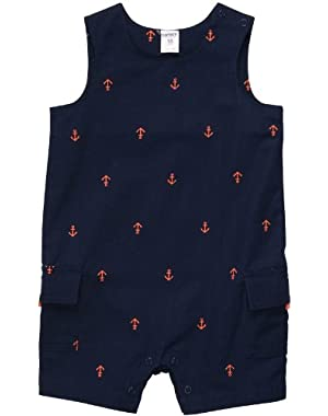 Carter's Baby Boys' Infant Woven Sunsuit