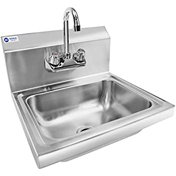 Amazon Com Gridmann Commercial Nsf Stainless Steel Sink