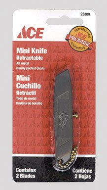 Ace-Retractable-Mini-Knife-Two-Metal-Blades