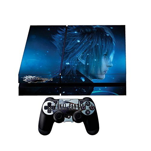 Premium Designer Limited Edition PS4 Final Fantasy XV Skin + 2 Free PS4 Controller Skins + Free PS4 Lightbar Decals