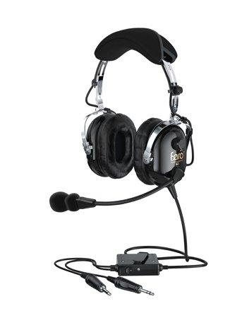 1 PC、g2 /ブラック、アクティブノイズリダクション( ANR )ヘッドセット、ノイズキャンセルエレクトレットマイク、レザー耳保護 B07B92L357