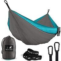 Double & Single Portable Camping Hammock - Parachute...