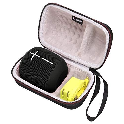LTGEM EVA Hard Case for UE WONDERBOOM IPX7 Waterproof Super Portable Bluetooth Speaker - Fits USB Cable and Charger
