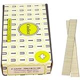 Cadex M/12-10M 21-Gauge Brad Galvanized Brad Nails with 10000 Fasteners Per Box, 12mm