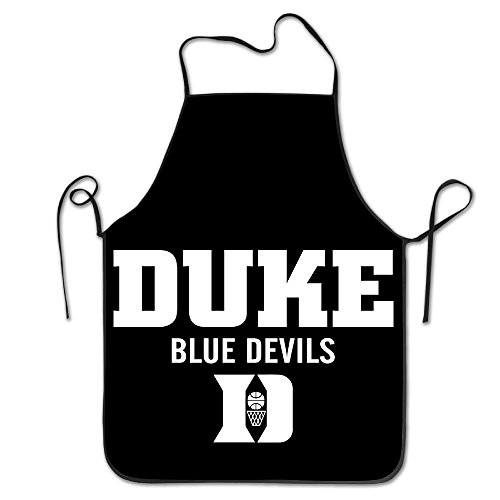 Unisex Duke Blue Devils Basketball Kitchen Cooking Grilling Apron Neck Straps Without Pockets Adjustable Duke Blue Devils Apron