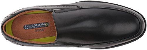 Shoe Toe Slip Florsheim On Dress Loafer Men's Black Moc Medfield gI6nS6