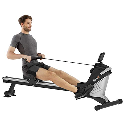 Buy Bargain ATIVAFIT Magnetic Rower Rowing Machine 8 Level Adjustable Resistance Exercise for Wh...
