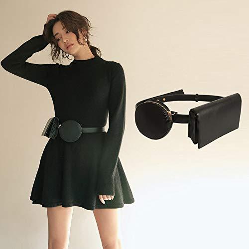 HeroStore Waist Pack Luxury Designer Fanny Pack Small Phone Pouch Pocket Belt Bag Purse Travel Belt Wallets Belts for Women