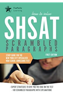 For the SHSAT test do you have to write an essay?