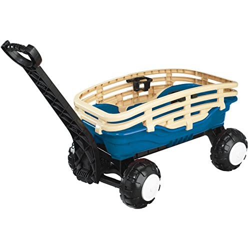American Plastic Toy Deluxe Runabout Stake Wagon for sale