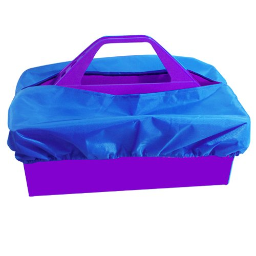 Intrepid International Tote Tray Cover, Blue