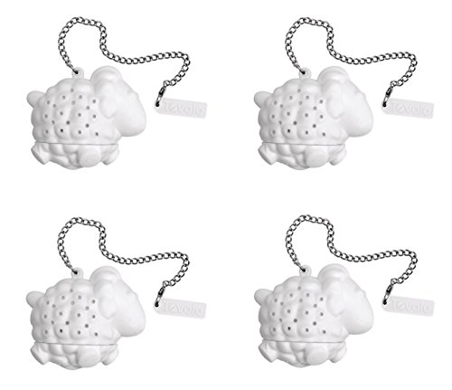 Tovolo Silicone Tea Infuser - Sheep, Set of 4 by Tovolo