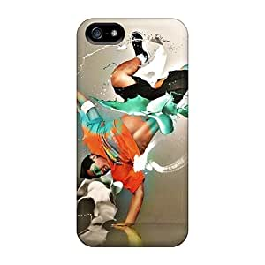 Special Design Back Photoshop Breakdancer Phone Cases Covers For Iphone 5/5s