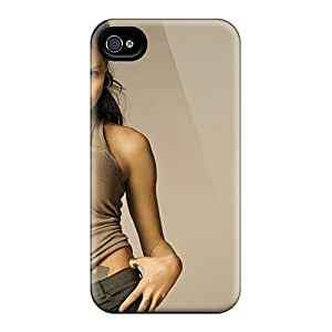 Top Quality Rugged Angelina Jolie Widescreen Case Cover For Iphone 5/5s