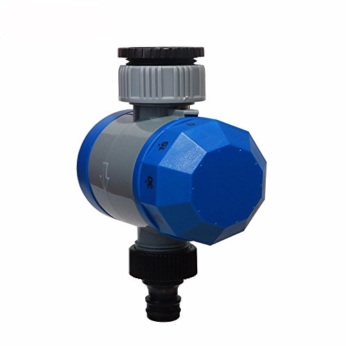 Aqualin Garden Automatic Irrigation Mechanical Watering Controller Timer Faucet Hose Shutoff No Batteries Required