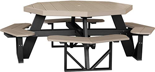 - LuxCraft Recycled Octagon Picnic Table