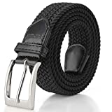 Elastic Braided Belt, Fairwin Unisex Men Women Braided Elastic Stretch Woven Belt for Jeans, Trouser