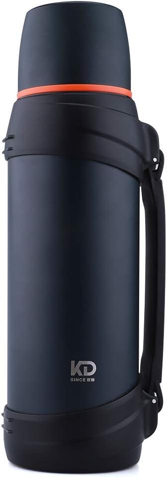 KE/_ Aluminium Alloy Outdoor Sport Water Bottle Vacuum Thermos Insulated Metal