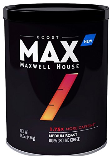 Maxwell House Max Boost 1.75x More Caffeine 15.3oz Can