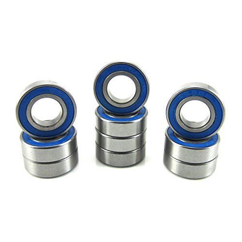 8x16x5mm Precision Ball Bearings ABEC 3 Rubber Seals (10) 688-2RS-BU -