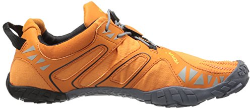 Men's Trail Vibram Orange Runner V Black Grey OzxdEq4w