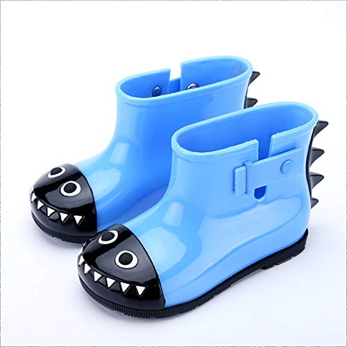 YIBLBOX Baby Infant Toddler Wellies Wellington Lovely Shark Rain Boots PVC Rain Shoes for 1-6 Years Old by YIBLBOX (Image #1)
